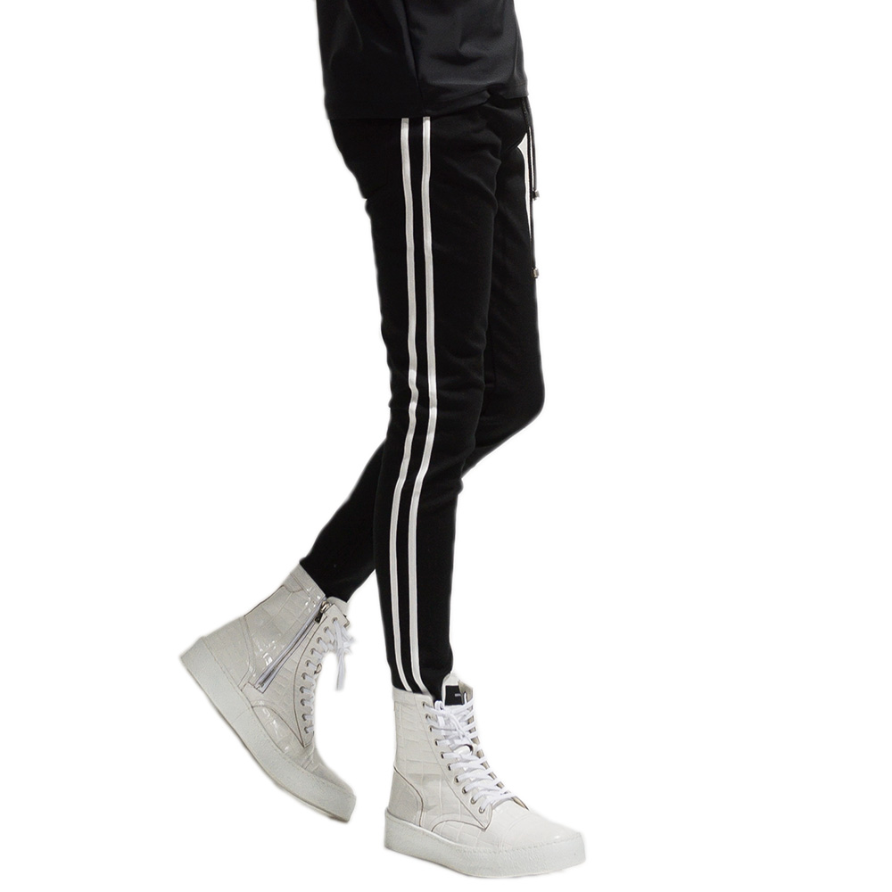 RESOUND CLOTHING パンツ Blind LINE PT BASIC-ST-008 BLACKxWHITE