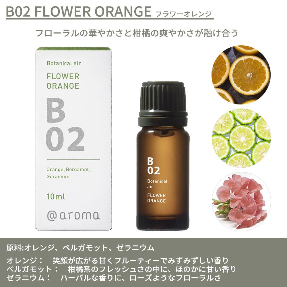 @aroma エッセンシャルオイル  10ml Botanical Air