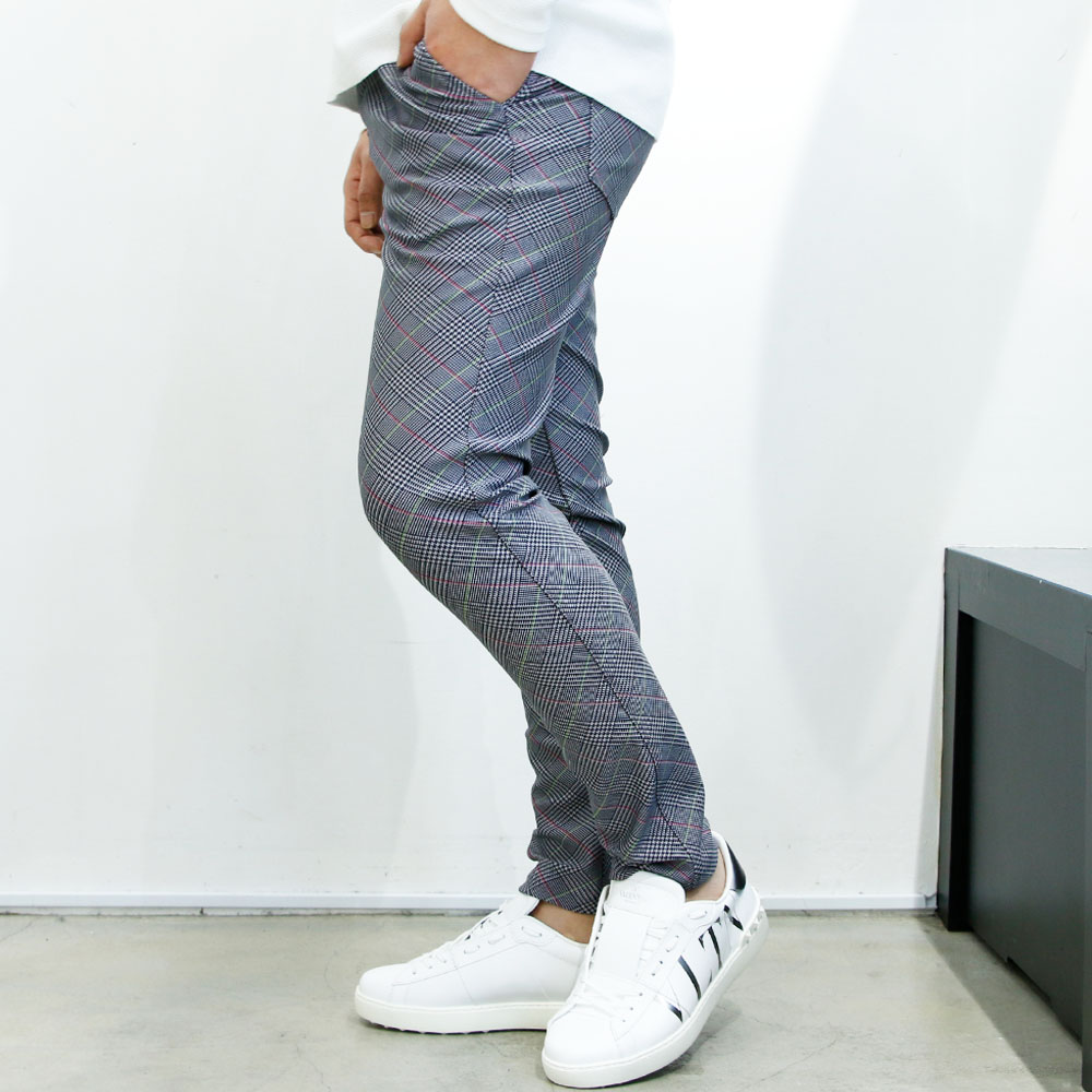RESOUND CLOTHING パンツ CHRIS EASY PANTS RC19-ST-016 GRCHCKcharcoal