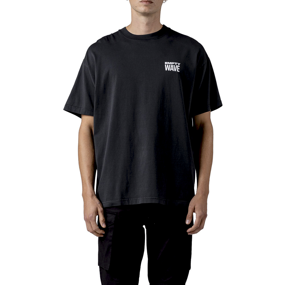 STAMPD Tシャツ Empty Wave Relaxed Tee SLA-M2707TE BLACK
