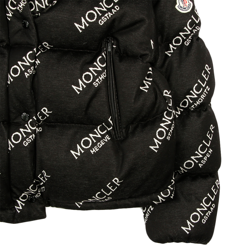 MONCLER ダウン WOMAN DOWN CAILLE 45346 85V8075 BLACK