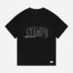 STAMPD Tシャツ Waves Tee M2195TE BLACK