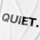 【予約】BANDEL Tシャツ QUIET BACKPRINT MOC TEE BG-MTQT001 WHITE
