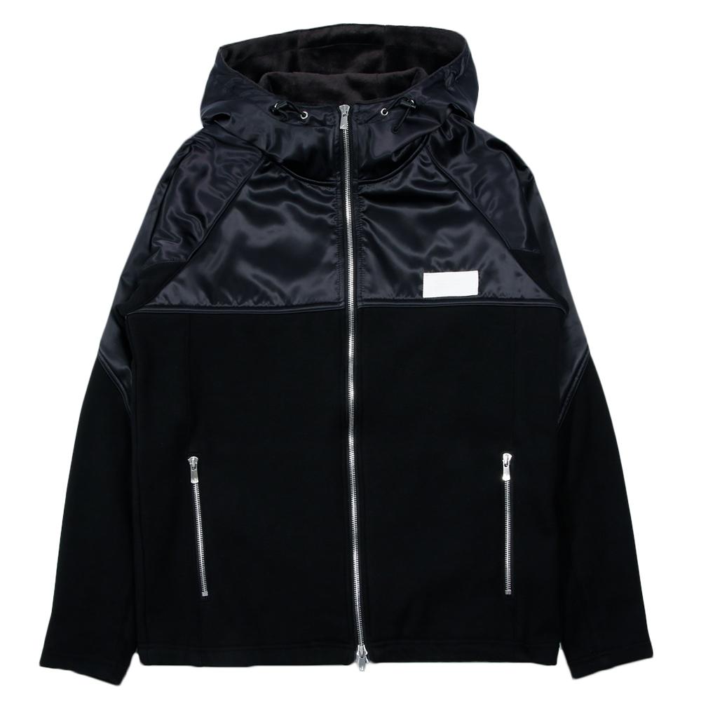 RESOUND CLOTHING フーディー WARM-UP fleece ZIP Hoodie RC14-C-001 BLACK