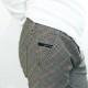RESOUND CLOTHING パンツ CHRIS EASY PANTS RC19-ST-016 GRCHCKBEIGE
