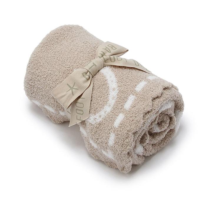 BAREFOOT DREAMS ベアフットドリームズ Scalloped Receiving Blanket スカラップレシービングブランケット B551