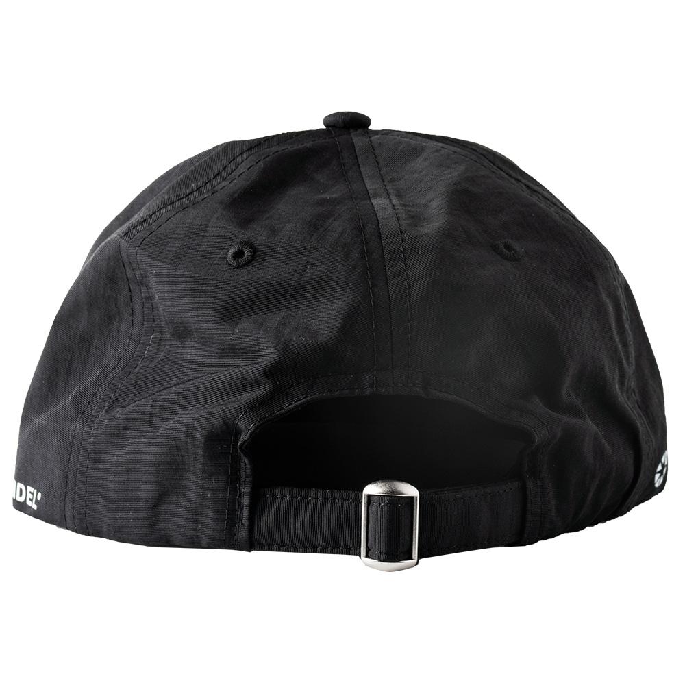 BANDEL キャップ Side Logo Urban Fit Nylon Baseball Cap BAN-CP010 BLACK