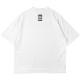 BANDEL Tシャツ QUIET FRONTPRINT MOC TEE BG-MTQT002 WHITE