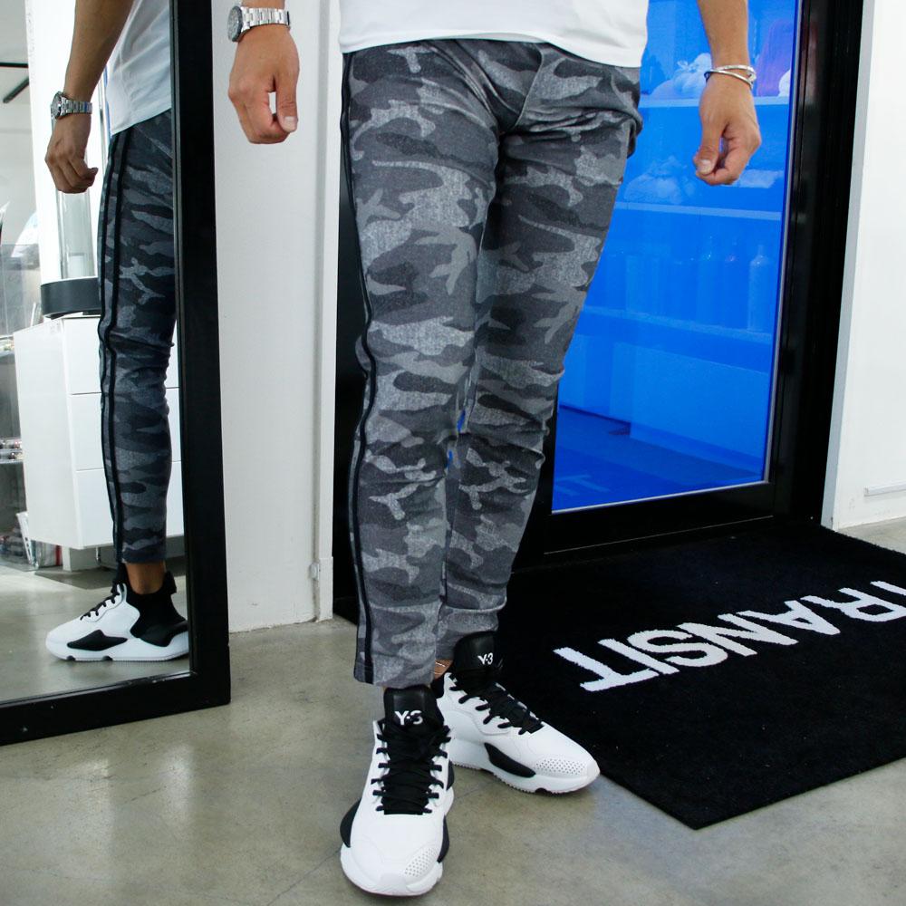 RESOUND CLOTHING パンツ Blind LINE PT BASIC-ST-008 GREYxCAMOxBLACK