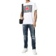 DSQUARED2 Tシャツ S74GD0827S22427 WHITE