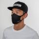 BANDEL マスク AW 3D Design Mask Staple Logo BlackxWhite