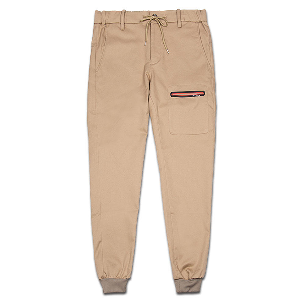 muta MARINE リブパンツ CLEANSE TRIMMING POCKET LIBPANTS MMJC-444052 BEIGE
