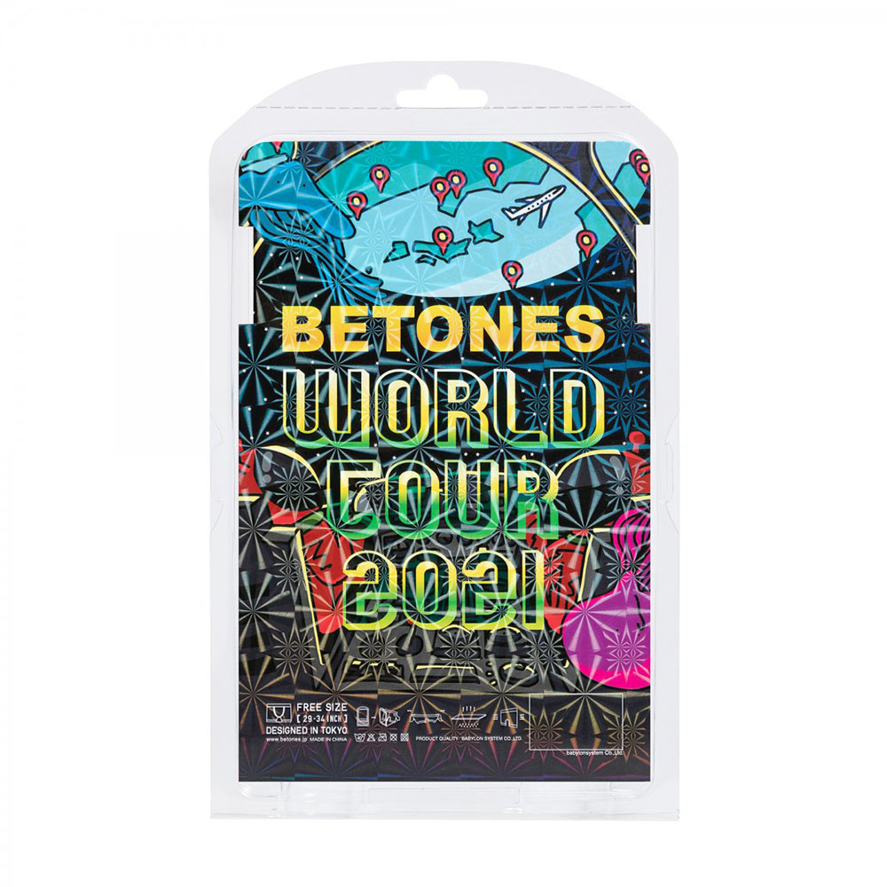 BETONES ボクサーパンツ WORLD TOUR-BERMUDA-MUDA002 MIX