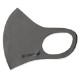 BANDEL マスク AW 3D Design Mask Staple Logo Grey×Black