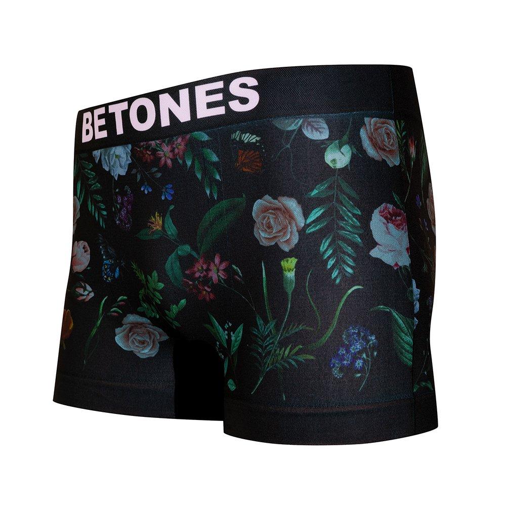 BETONES ボクサーパンツ ROSE BLACK-ROS001 BLACK