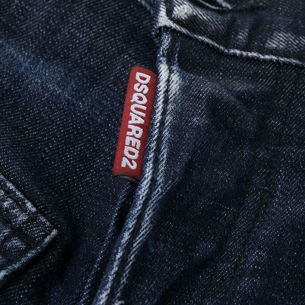 DSQUARED2 デニムパンツ S74LB0838S30342 BLUE