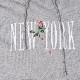 STAMPD フーディー New York Rose Hoodie SLA-M2767HD HEATHER GREY