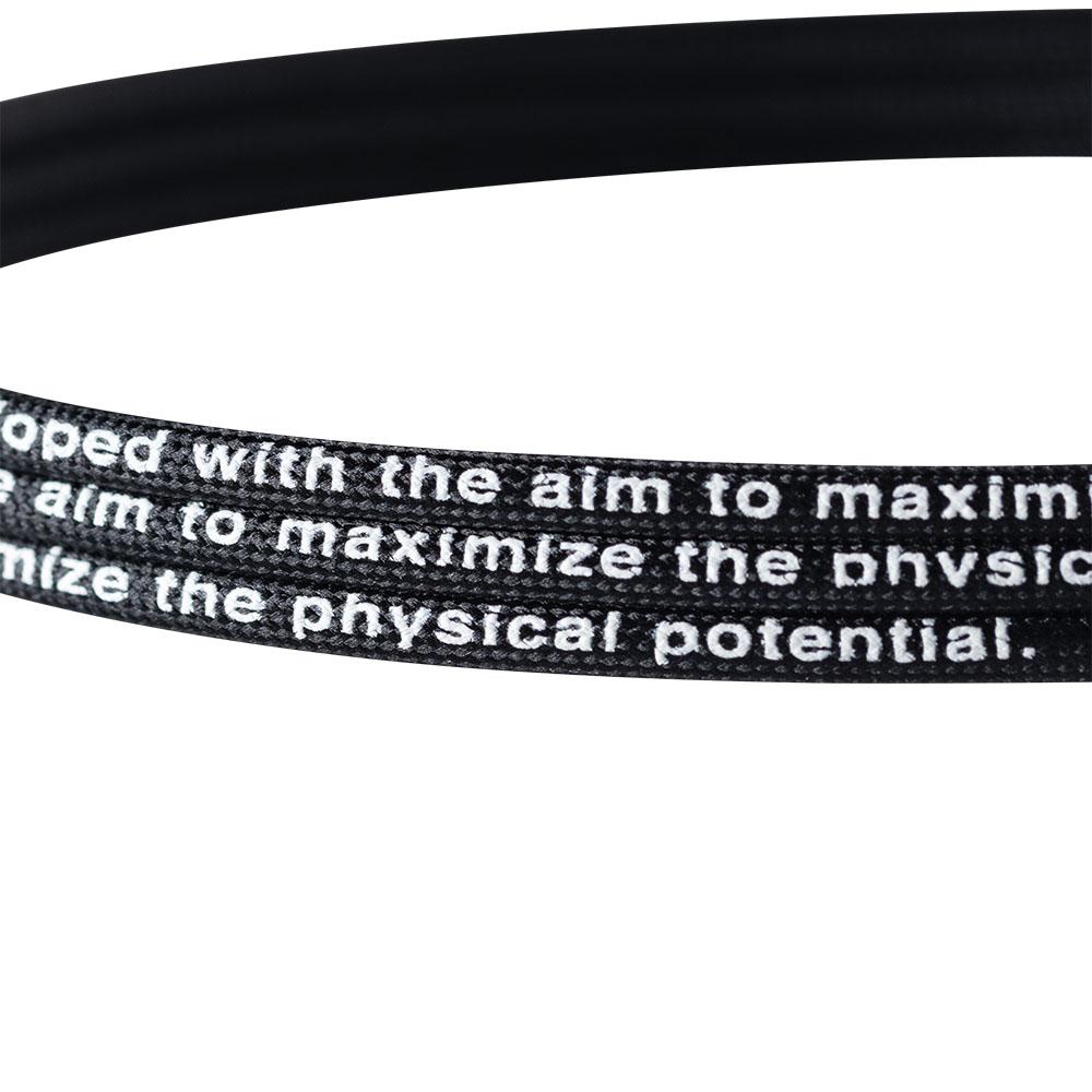 BANDEL  ネックレス healthcare flexible comfort benefit BLACK×WHITE