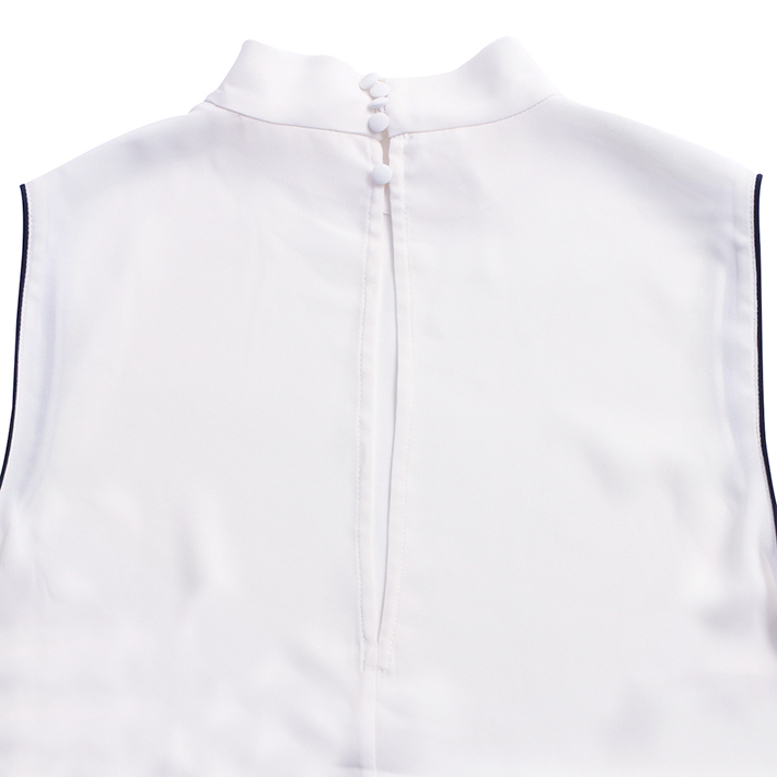GAS ガス トップス WOMEN 125254 220181 VIKING TOP WHITE