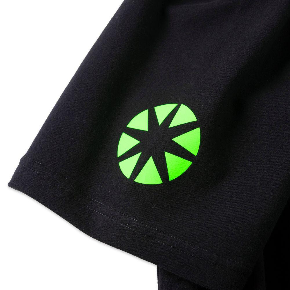 BANDEL Tシャツ Short Sleeve T Summer Capsule BAN-T008-SC BLACKxGREEN