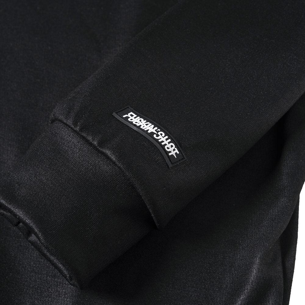 【予約】BANDEL ロンT WG L/S MOC TEE BG-WGML001 BLACKxWHITE