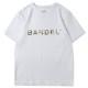 BANDEL Tシャツ S/S T Camouflage Logo BAN-T024 White