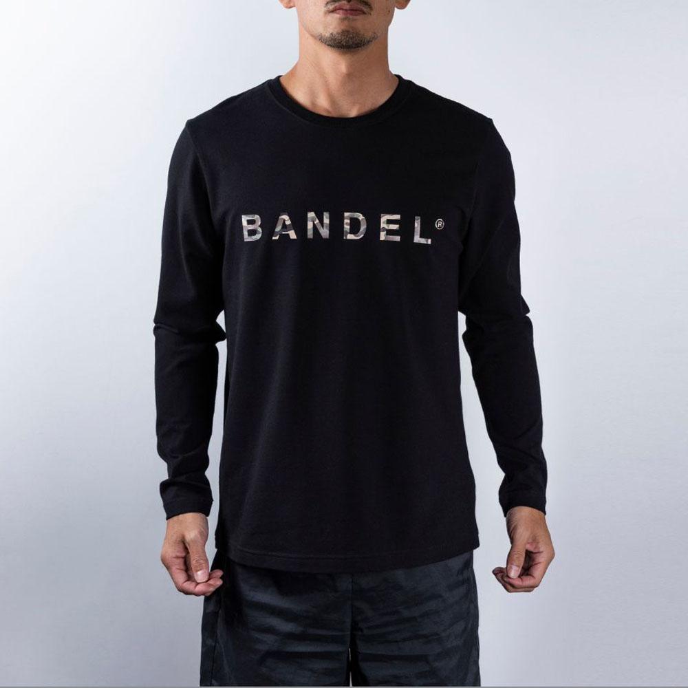 BANDEL ロンT Camofrage Logo BAN-LT017 Black