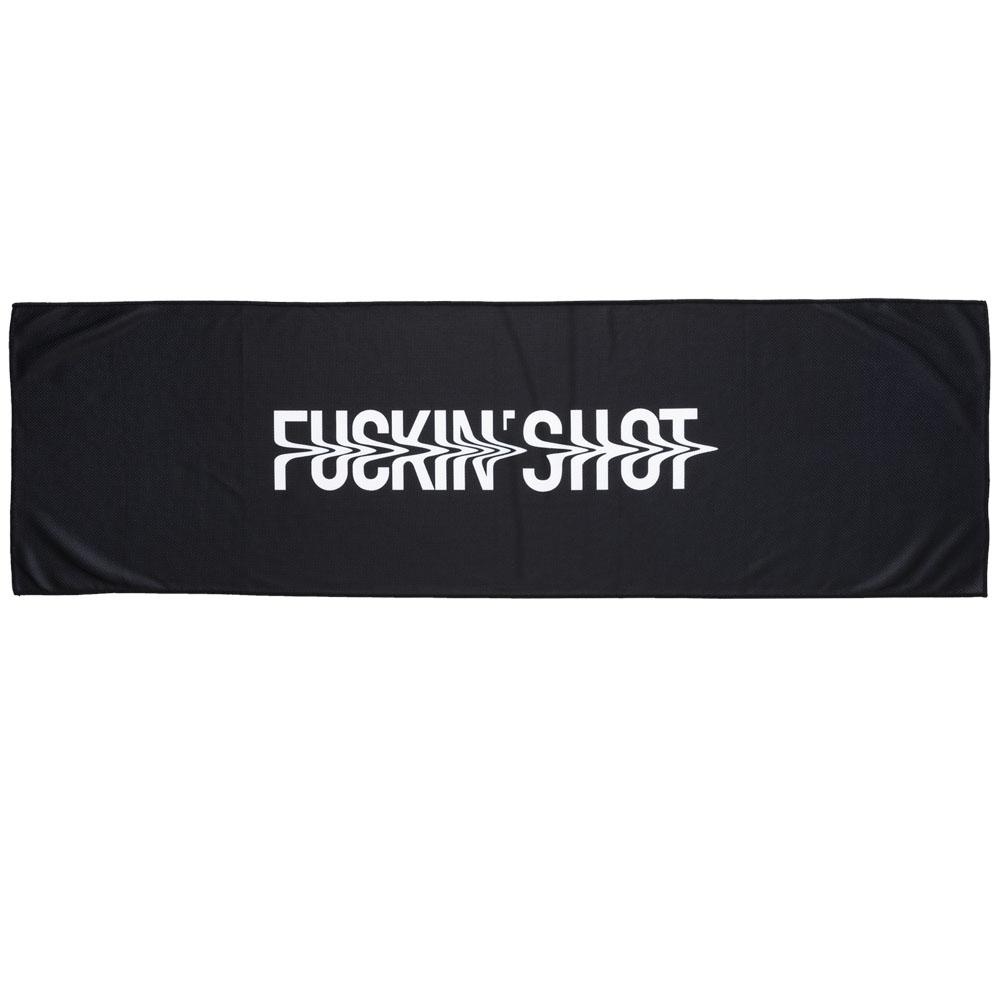 BANDEL クールタオル FUCKIN'SHOT BG-FSCT001 BLACK