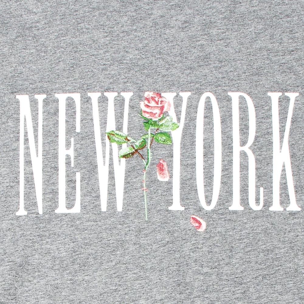 STAMPD Tシャツ New York Rose Perfect Tee SLA-M2769TE HEATHER GREY