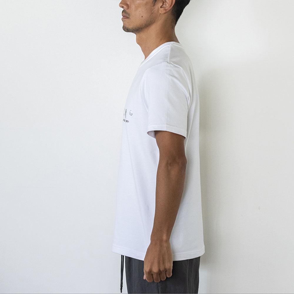 BANDEL Tシャツ S/S T Geometry Camo Logo BAN-T025 White