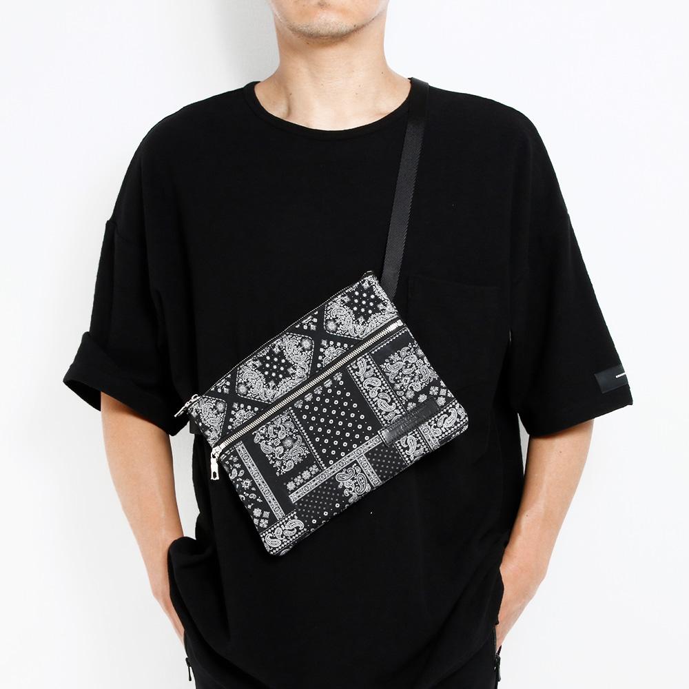 RESOUND CLOTHING サコッシュ BANDANA Sacoche RC20-BAG-001 BLACK