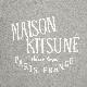 MAISON KITSUNE スウェット メンズ PALAIS ROYAL GREY AM00300KM0001