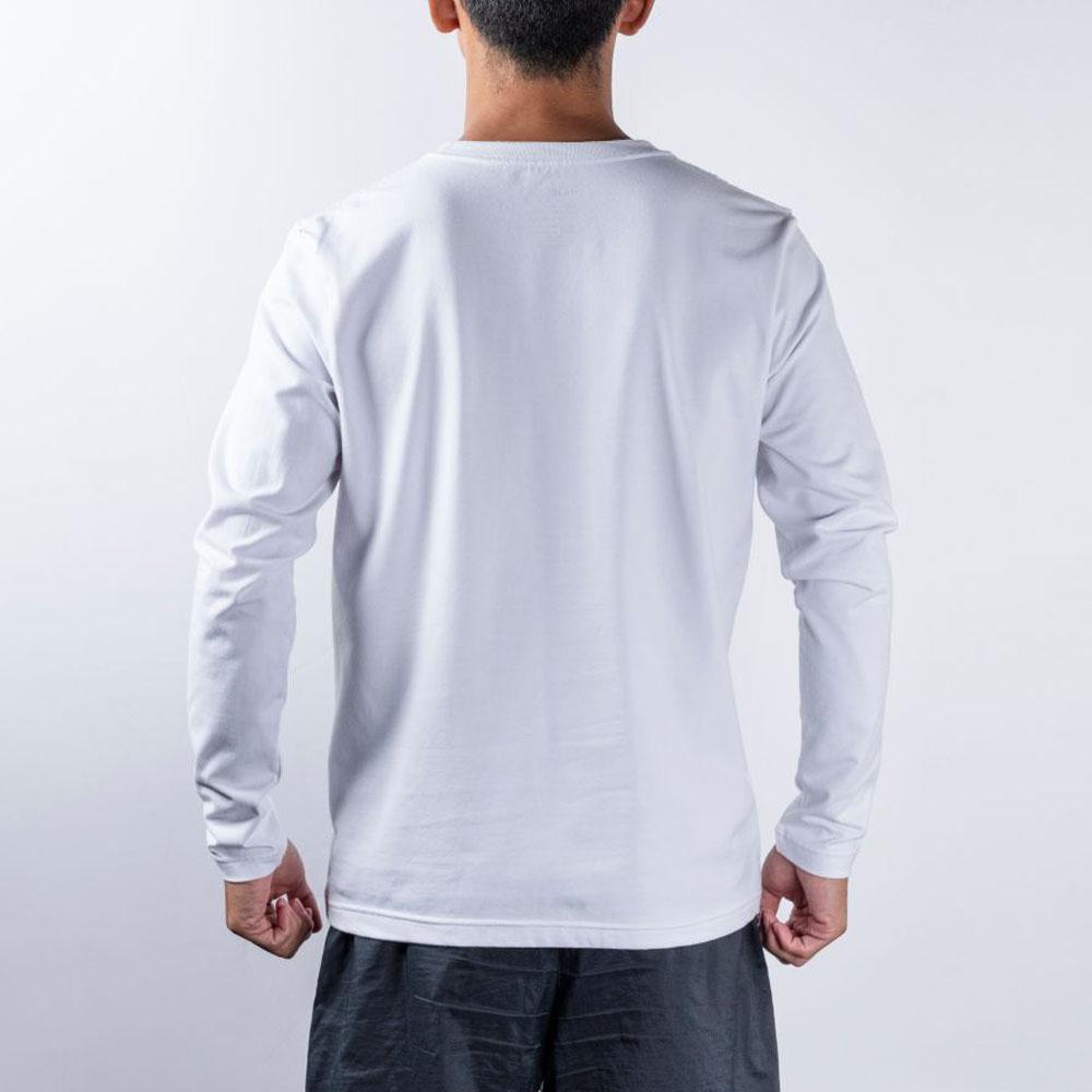 BANDEL ロンT Geometry Camo Logo BAN-LT018 White