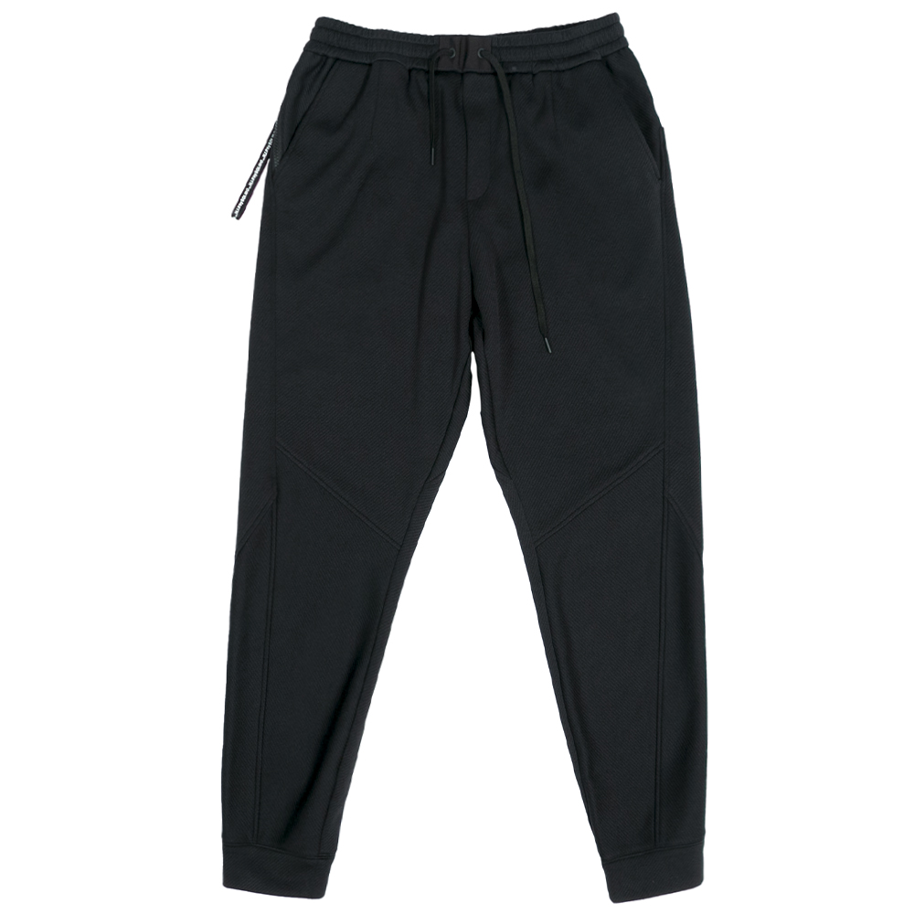 H.I.P. by SOLIDO パンツ DELTA SOLOTEX KERSEY SLIM FIT EASY PANTS MHSL21A5088-S BLACK