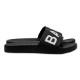 BANDEL サンダル BIG LOGO Slider BAN-SD001 Black×White