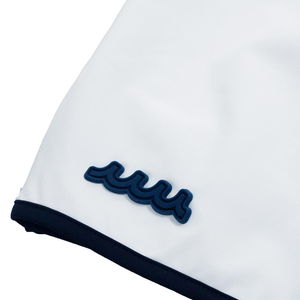 muta MARINE パイピングラップスカート MMBC-200832 WHITE