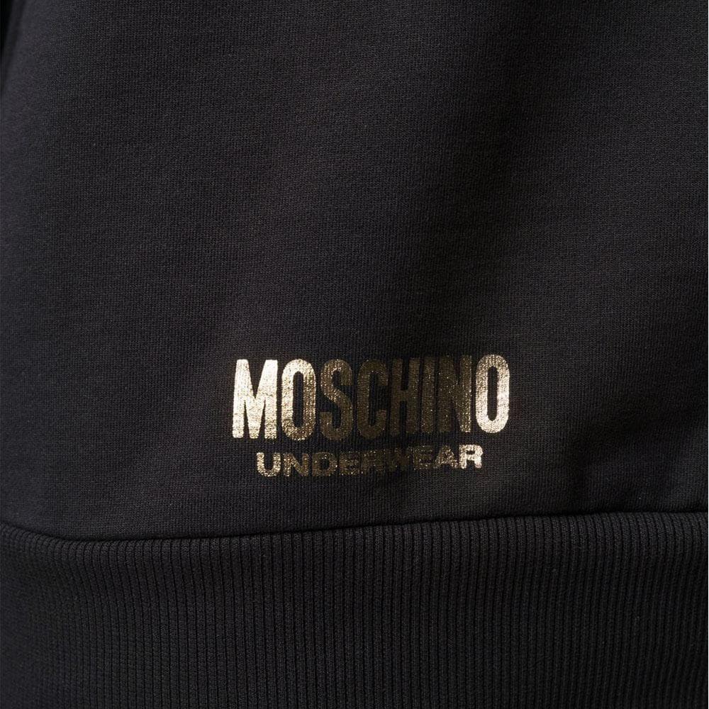 MOSCHINO UNDERWEAR スウェット 1709 8113 555 BLACK