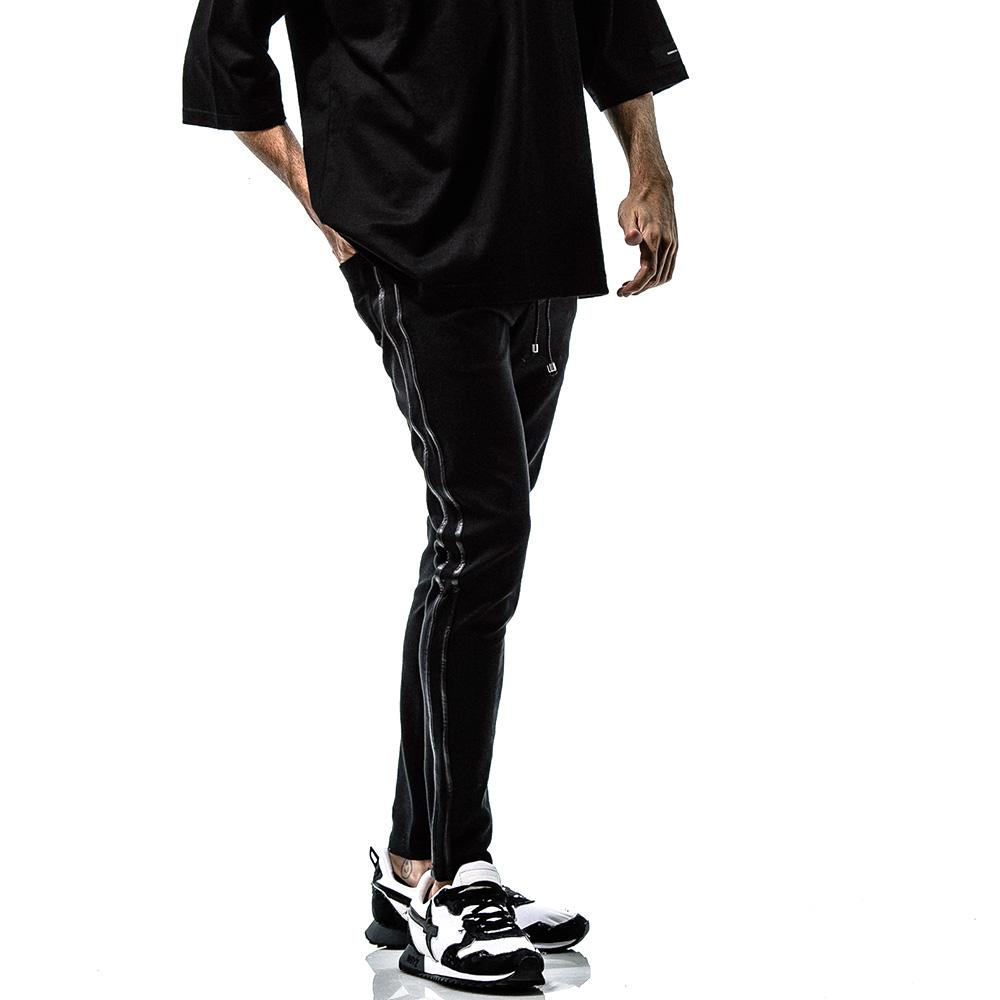 RESOUND CLOTHING ラインパンツBlind LINE PT BASIC-ST-008 BLACK LINE BLACK