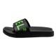 BANDEL サンダル BIG LOGO Slider BAN-SD001 Black×Neon Green