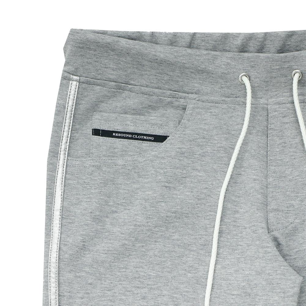 RESOUND CLOTHING ラインパンツBlind LINE PT BASIC-ST-008 GREYxSILVER