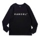 BANDEL ロンT Silver Logo BAN-LT020 Black