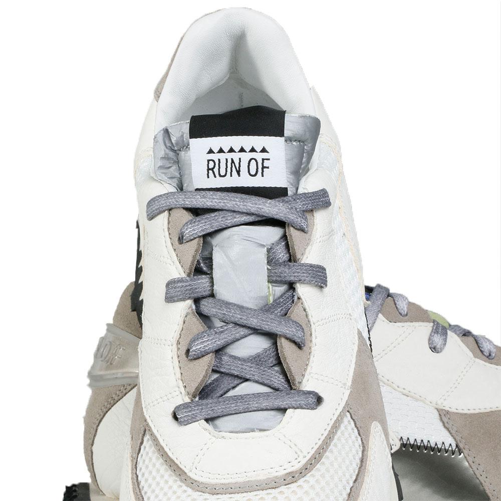 RUN OF スニーカー Flat White RUN2101 WHITE