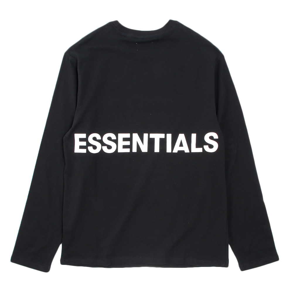 FOG ESSENTIALS ロンT Boxy Long Sleeve T-shirt BLACK