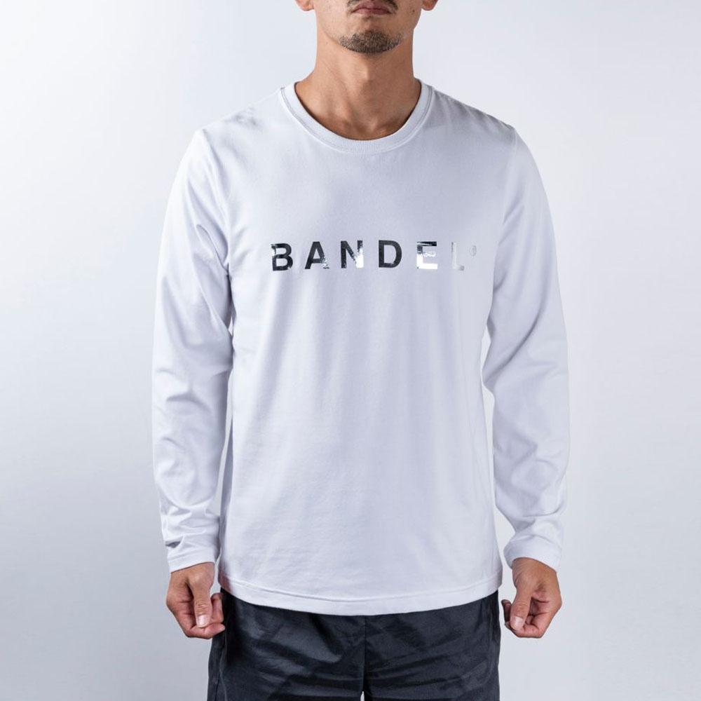 BANDEL ロンT Silver Logo BAN-LT020 White