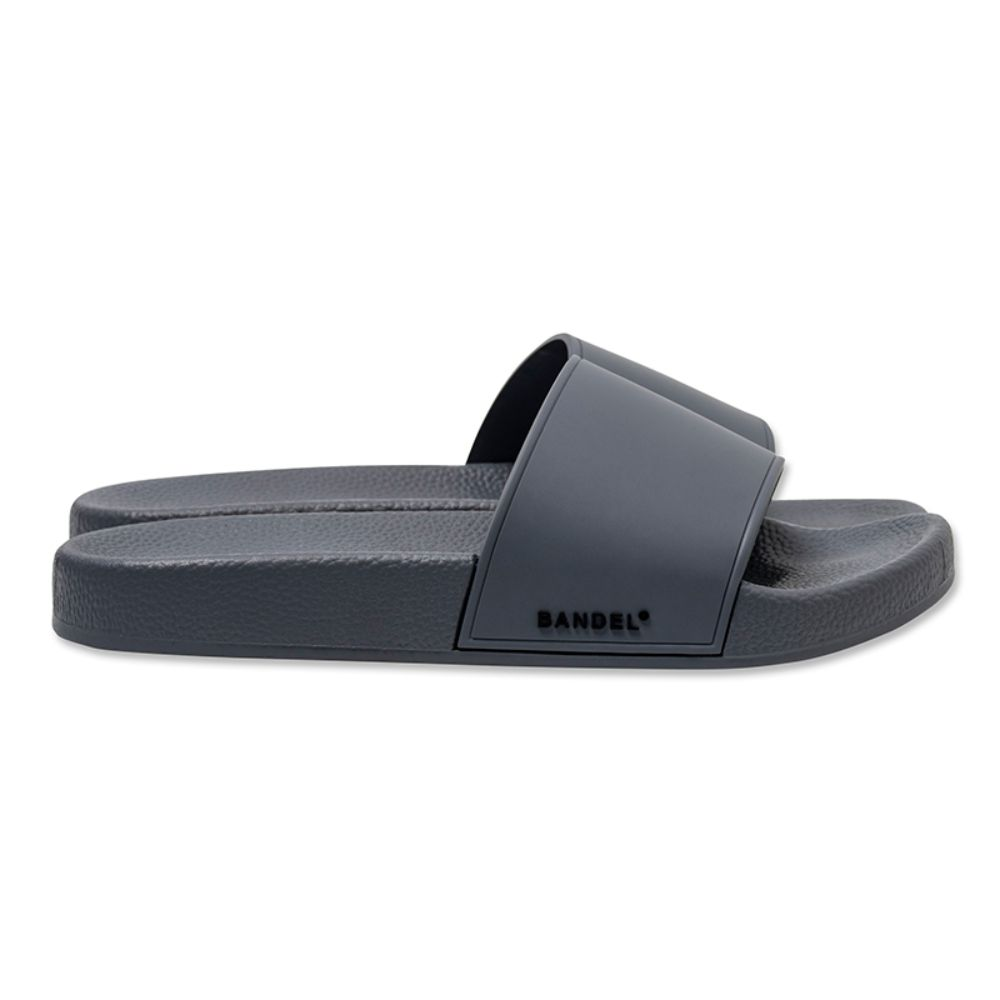 BANDEL サンダル SIDE LOGO Slider BAN-SD002 Blue Grey×Black