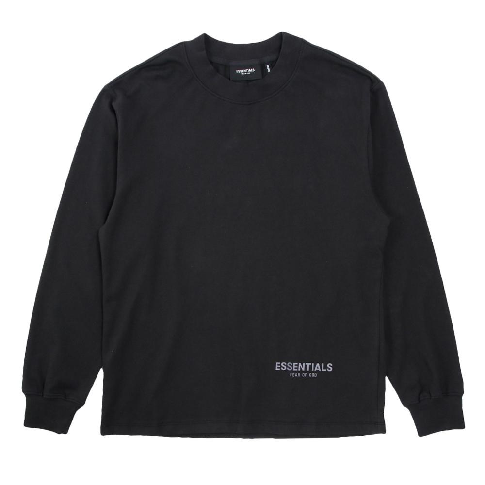 FOG ESSENTIALS ロンT 3M LOGO LONG SLEEVE T-SHIRTS BLACK