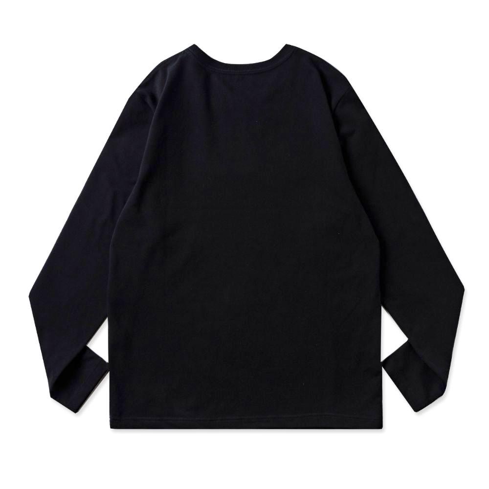 BANDEL ロンT Woven Label BAN-LT021 Black