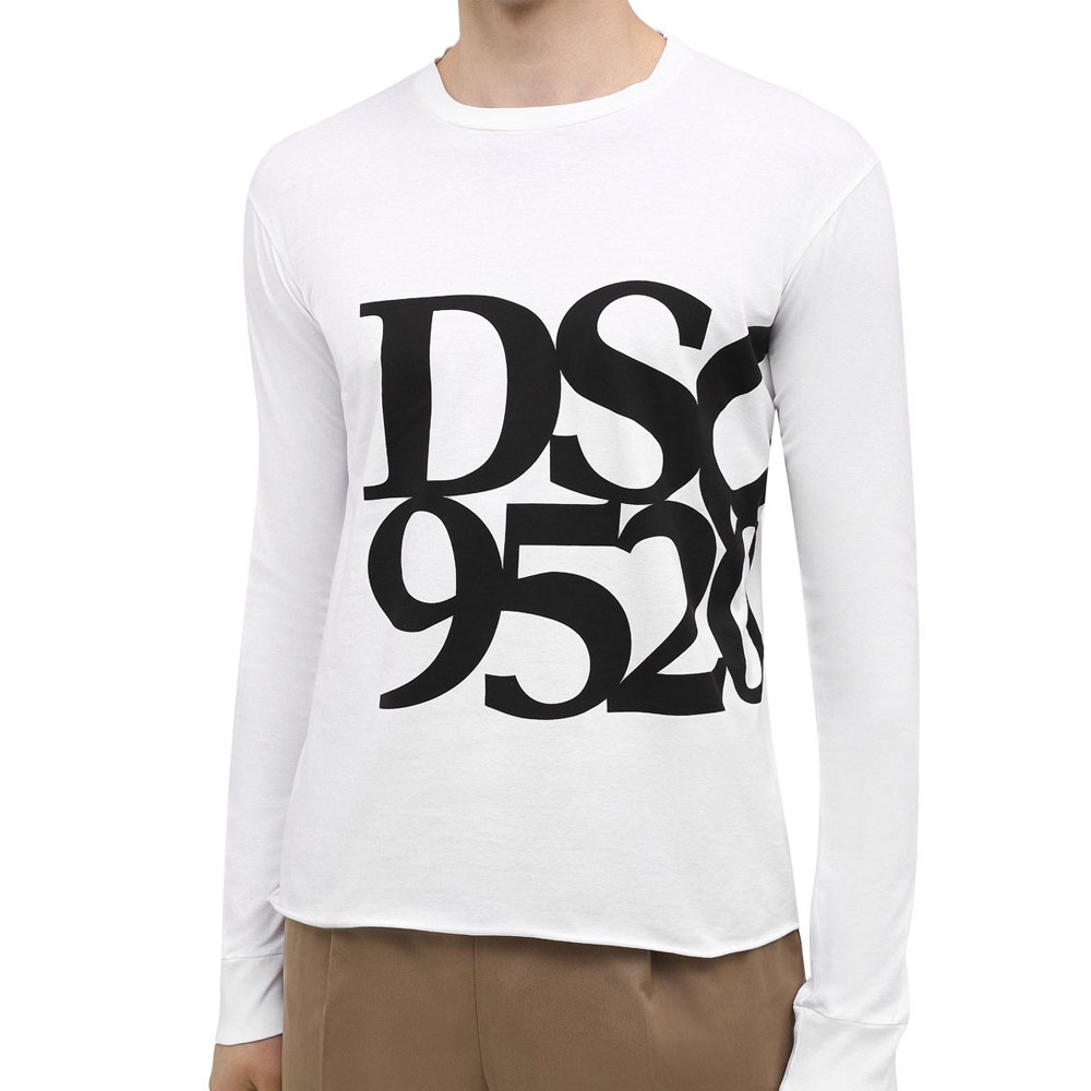 DSQUARED2 ロンT GC Tee DSQ2 95/20 S71GD0933 WHITE