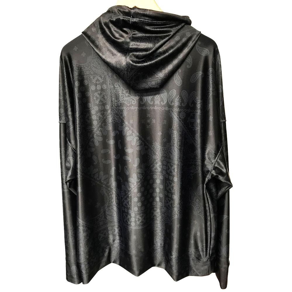 【予約】RESOUND CLOTHING ラッシュフーディー BANDANA RUSH RC19-C-003 BLACKxBLACK