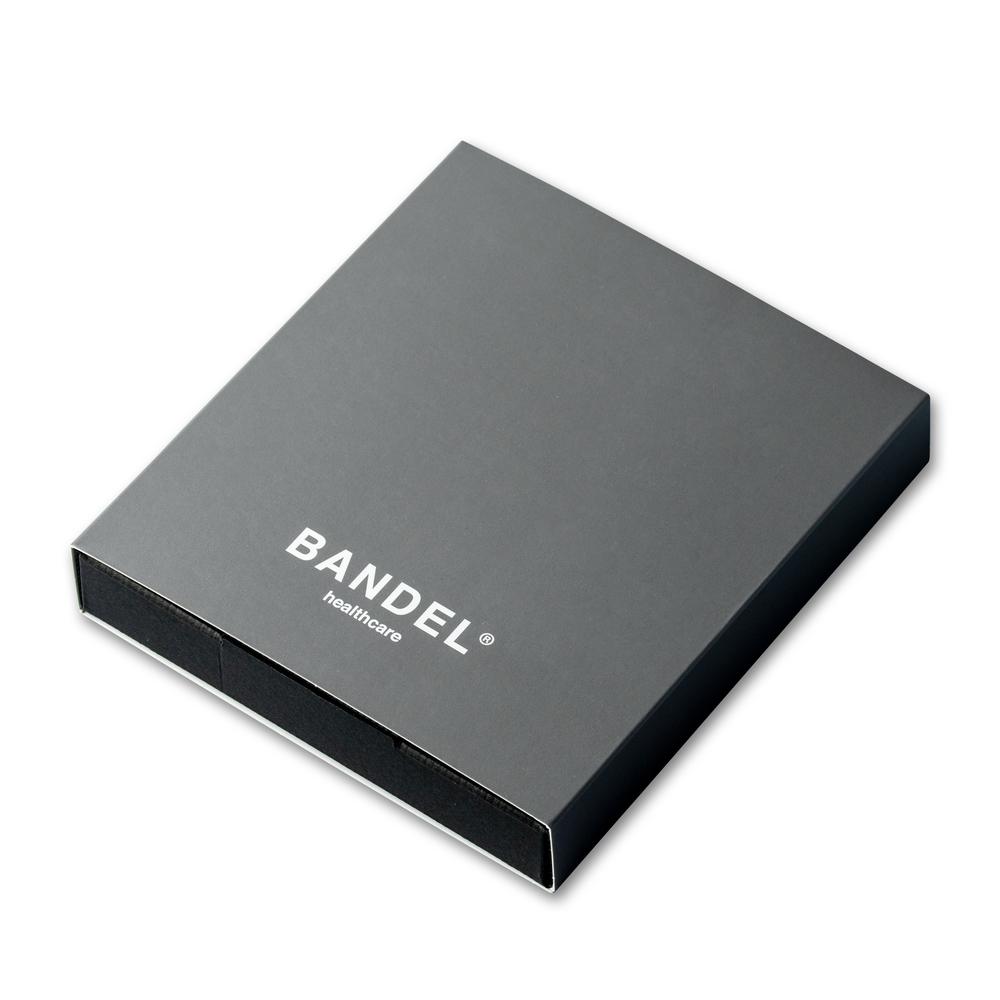 BANDEL 磁気ネックレス Healthcare Line Neutral Grey x Silver